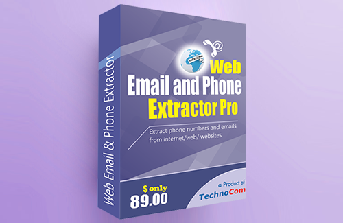 Web Email Phone Extractor Pro